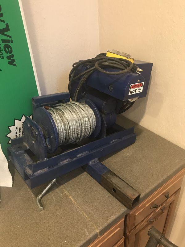 My-te 100 ab electric winch hoist for Sale in Spokane, WA - OfferUp