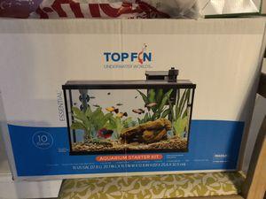 Top Fin 10 gallon Starter Kit aquarium for Sale in Silver Spring, MD