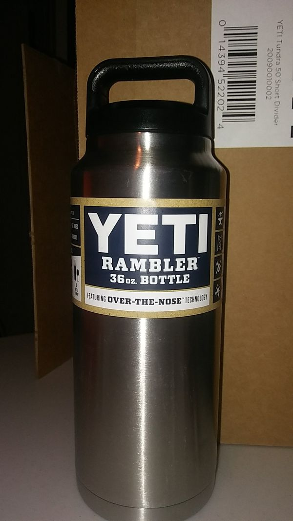 Yeti Rambler 36oz Stainless Bottle $25 Brand New for Sale in Austin, TX -  OfferUp