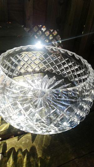 Waterford Diamond Cut Crystal Centerpiece for Sale in Fairfax, VA