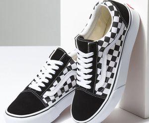 Vans Boys Old Skool Port Royale Red White Skate Shoes For Sale In