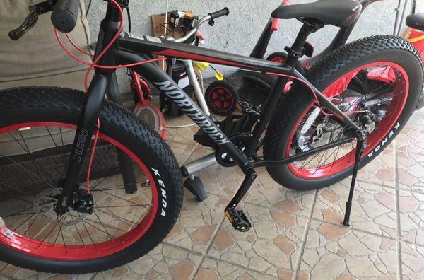Northrock XCOO Fat Tire Mountain Bike. BRAND NEW IN A BOX ...