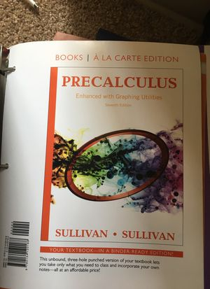 Pre calculus (7th edition) for Sale in Takoma Park, MD