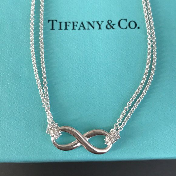 eaadda74d Tiffany & Co. Infinity Pendant Necklace (Jewelry & Accessories) in Chester,  PA - OfferUp