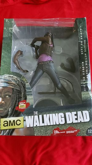 AMC walking dead michonne figurine for Sale in Orlando, FL