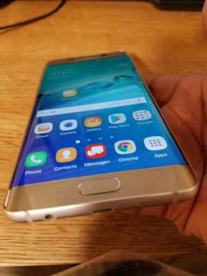Samsung Galaxy s6 edge + ; Factory Unlocked for Sale in Alexandria, VA