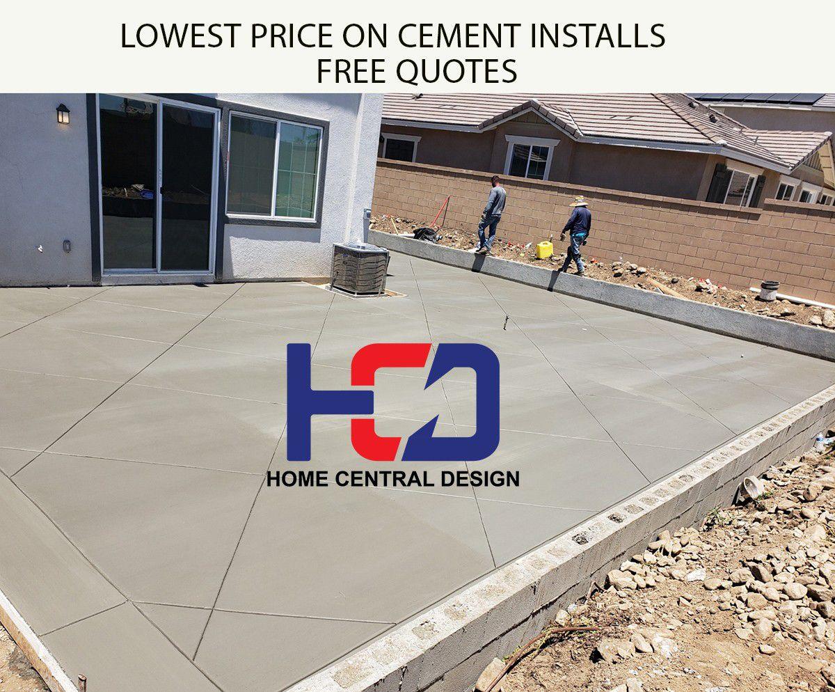 Cement-/concrete