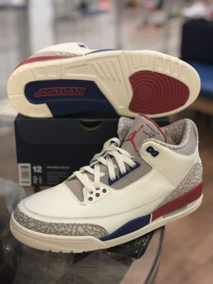 Brand new International Flight Jordan 3s size 12 for Sale in Kensington, MD