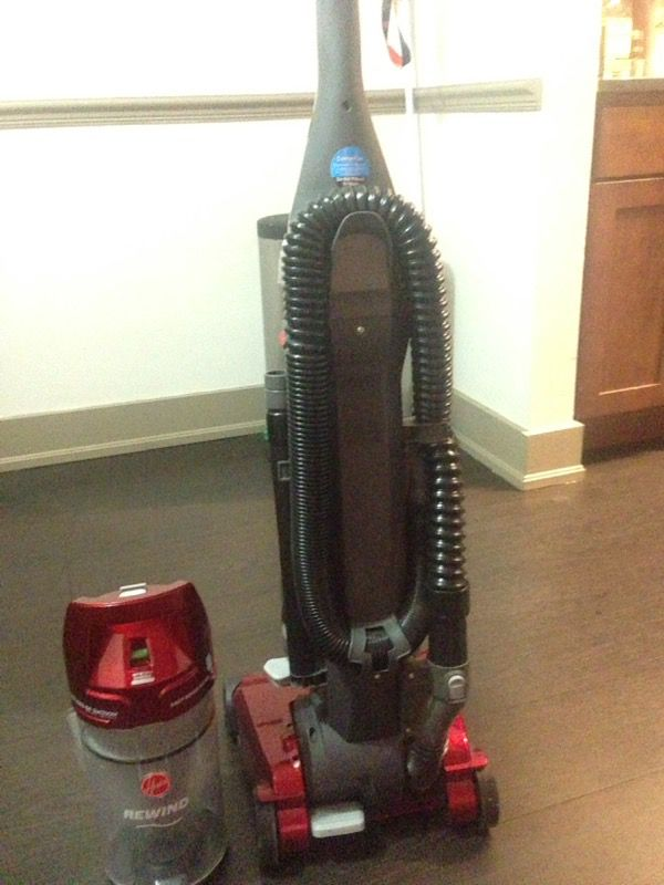 Hoover Elite Rewind Bagless Upright Vacuum Uh71012 For