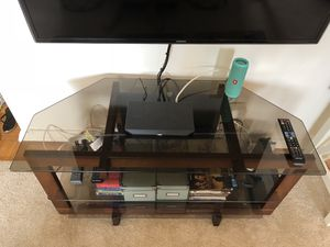 Glass TV Stand for Sale in Bethesda, MD