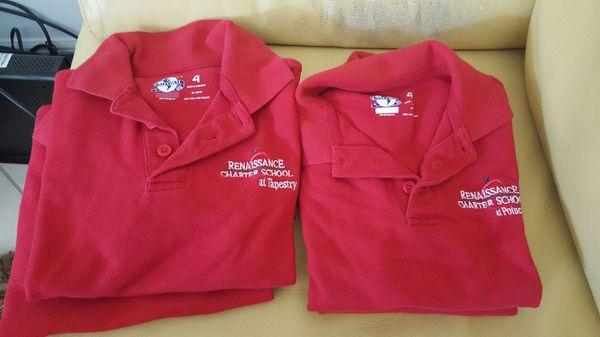 Renaissance school shirts (uniform) for Sale in Kissimmee, FL - OfferUp