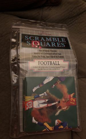 Football Scramble Squares. TM for Sale in Hayward, CA