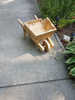 Wheel barrel planter for Sale in Apex, NC