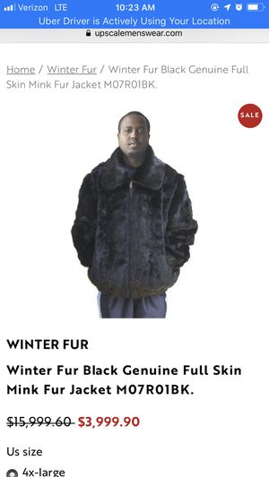 Winter Fur New York (Genuine Mink) for Sale in Columbus, OH