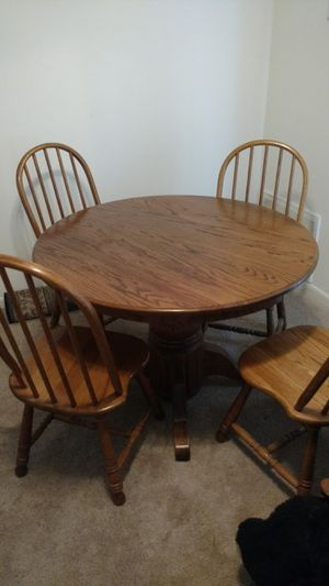 Kitchen table and chairs for Sale in Middletown, MD