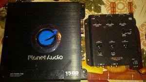 1500 watt mono and a kicker kx3 crossover for Sale in Kenbridge, VA