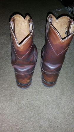 Justin cowboy boots size 9 Thumbnail