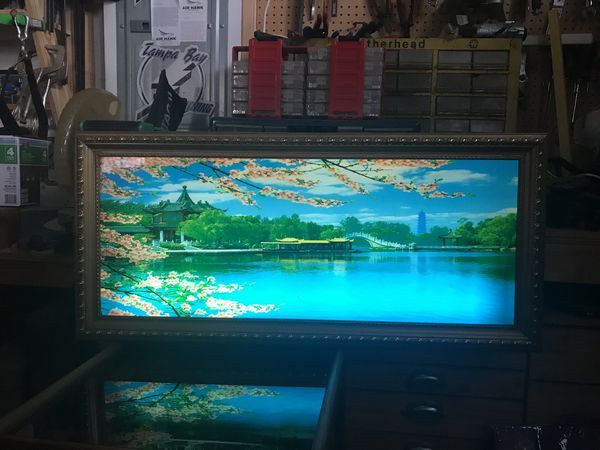 Rare vintage Japanese light up scene  From 70s 80s for Sale in Tampa, FL -  OfferUp