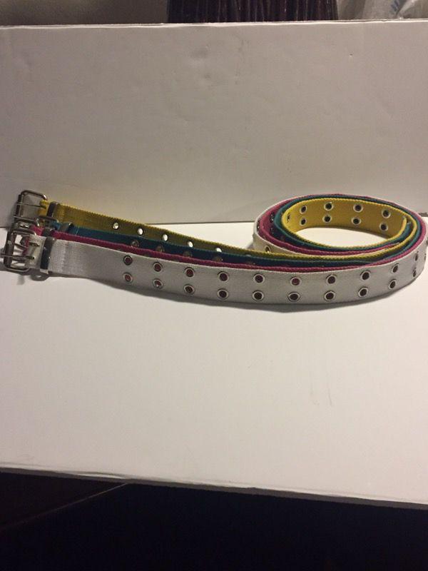 Brand bew belts $10 all 3