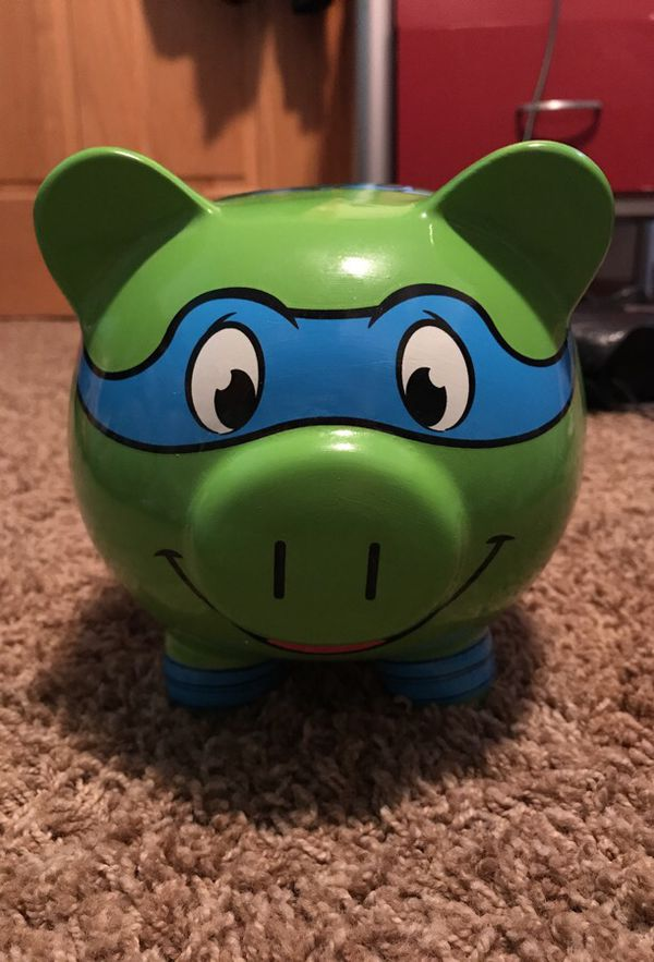 Ninja Turtle Piggy Bank For Sale In Indianapolis In Offerup