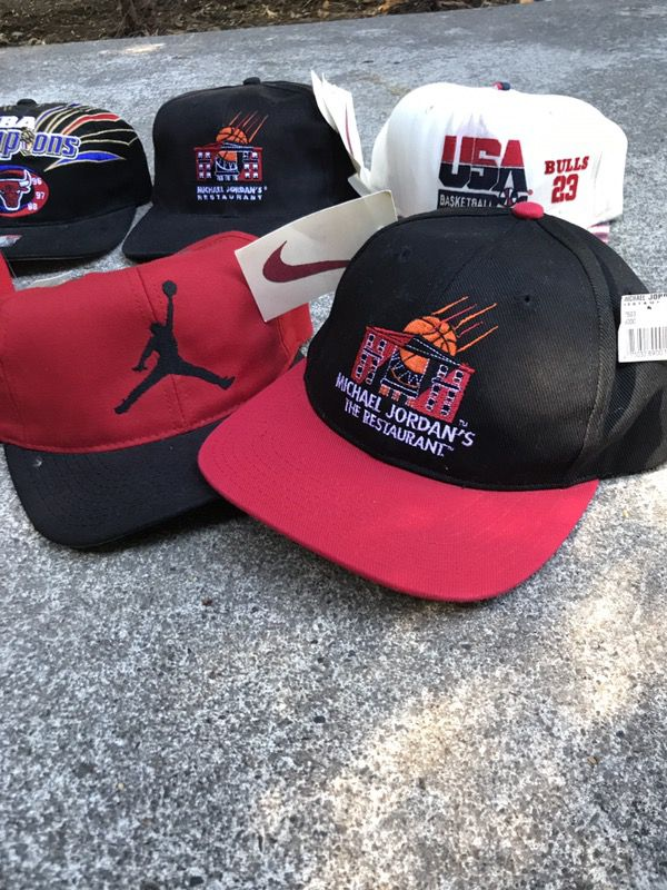 236451c35b3a Vintage Nike Air Jordan Hats for Sale in Happy Valley