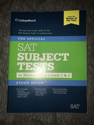 Official SAT Test for Sale in Rochester, MN