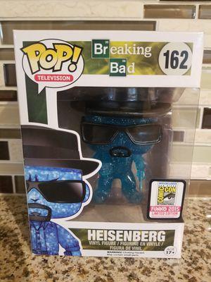 Photo Heisenberg Blue Crystal 162 Funko Pop