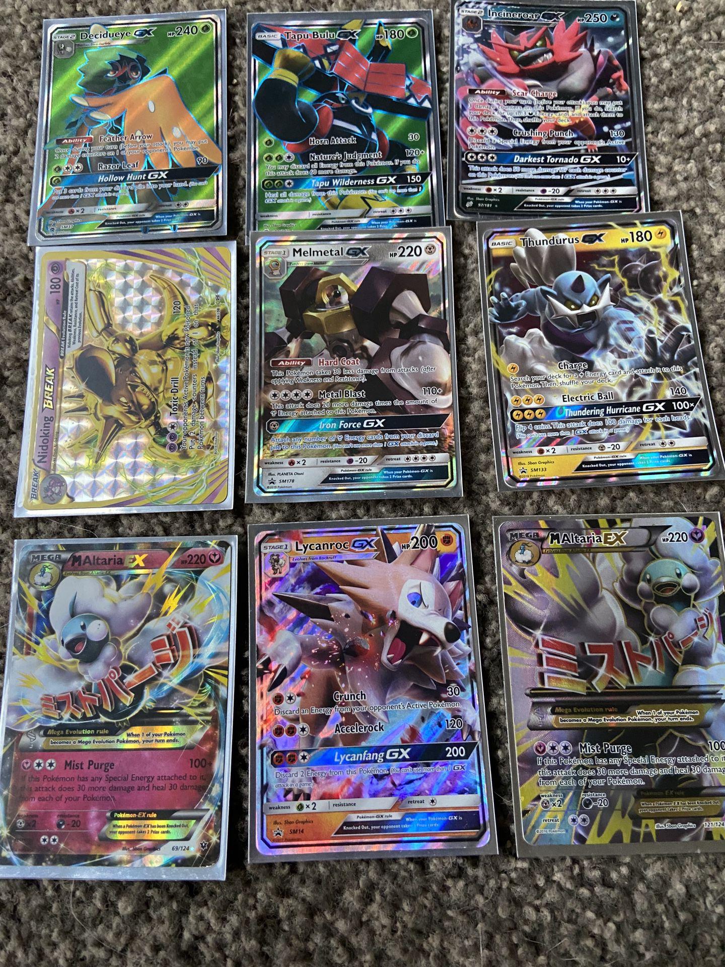 Rare Pokémon Cards