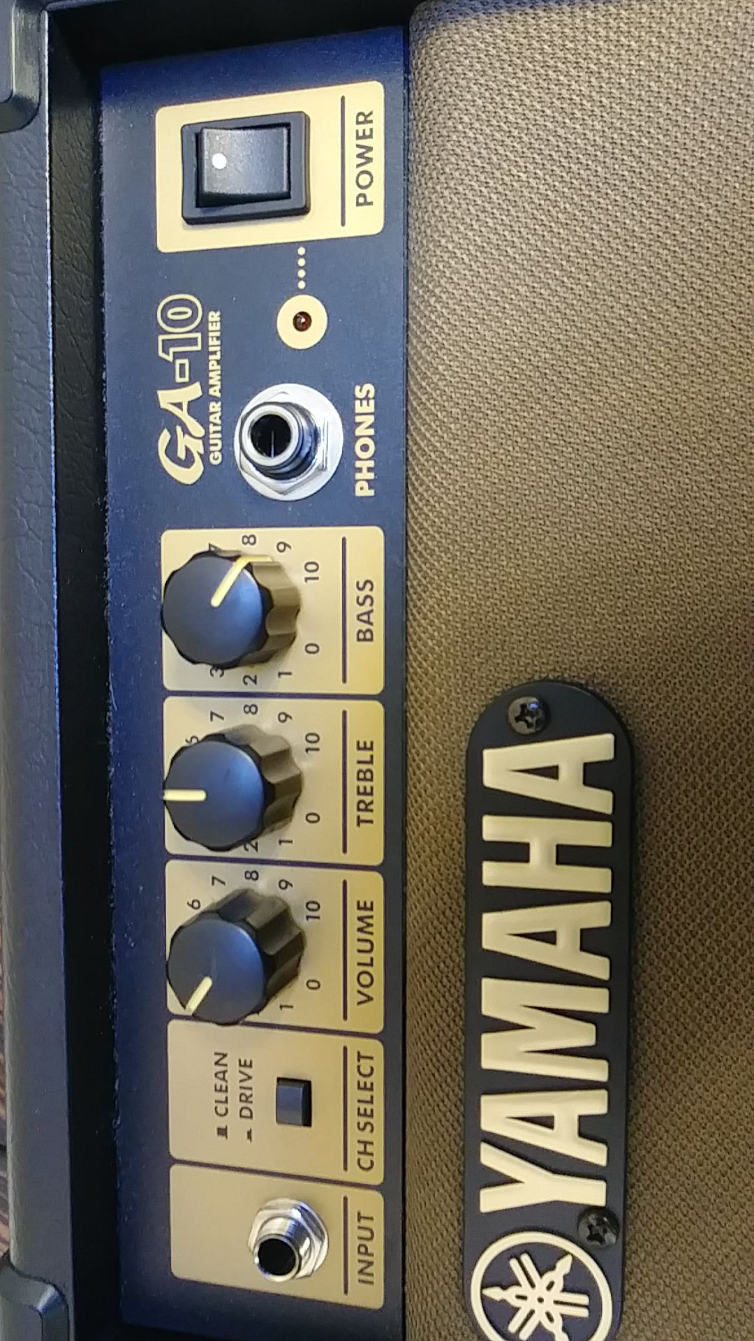 Yamaha amplifier.