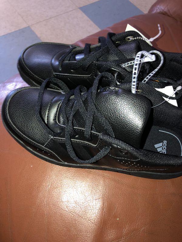New Adidas Alta Sport Classic Leather Kids Shoes Eco Ortholite Boys ...