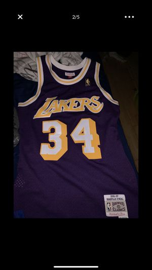 d068f517 O'Neal Lakers jersey size Small authentic for Sale in Philadelphia, PA