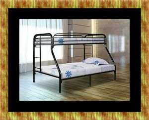 Full twin bunk bed frame for Sale in Washington, DC