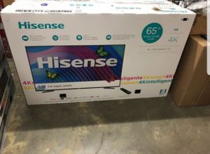 """Hisense 65H6D 65"""" 4K UHD HDR LED Smart TV 120hz 2160p (FREE DELIVERY) for Sale in Tacoma, WA"""