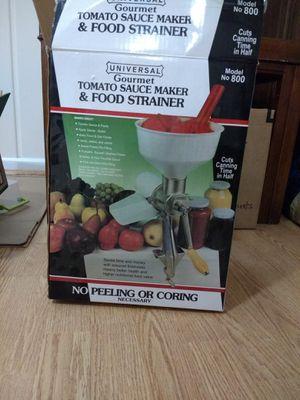 Tomato sauce maker / food strainer for Sale in McLean, VA