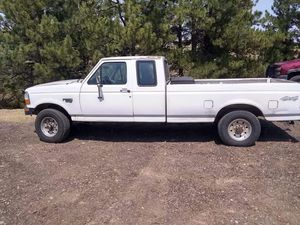 97 Ford F250 4X4 Power Stoke 7.3 diesel for Sale in Brighton, CO
