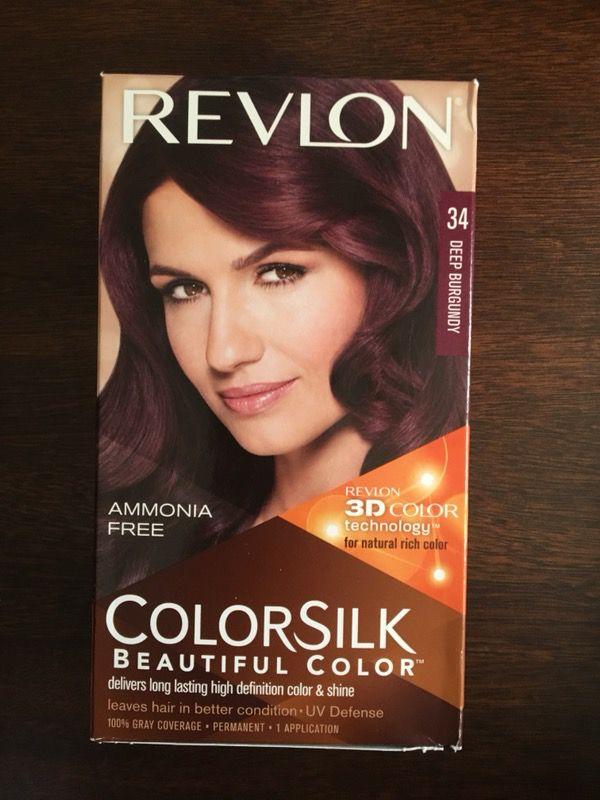Revlon Colorsilk Hair Color Dye Deep Burgundy For Sale In Fontana