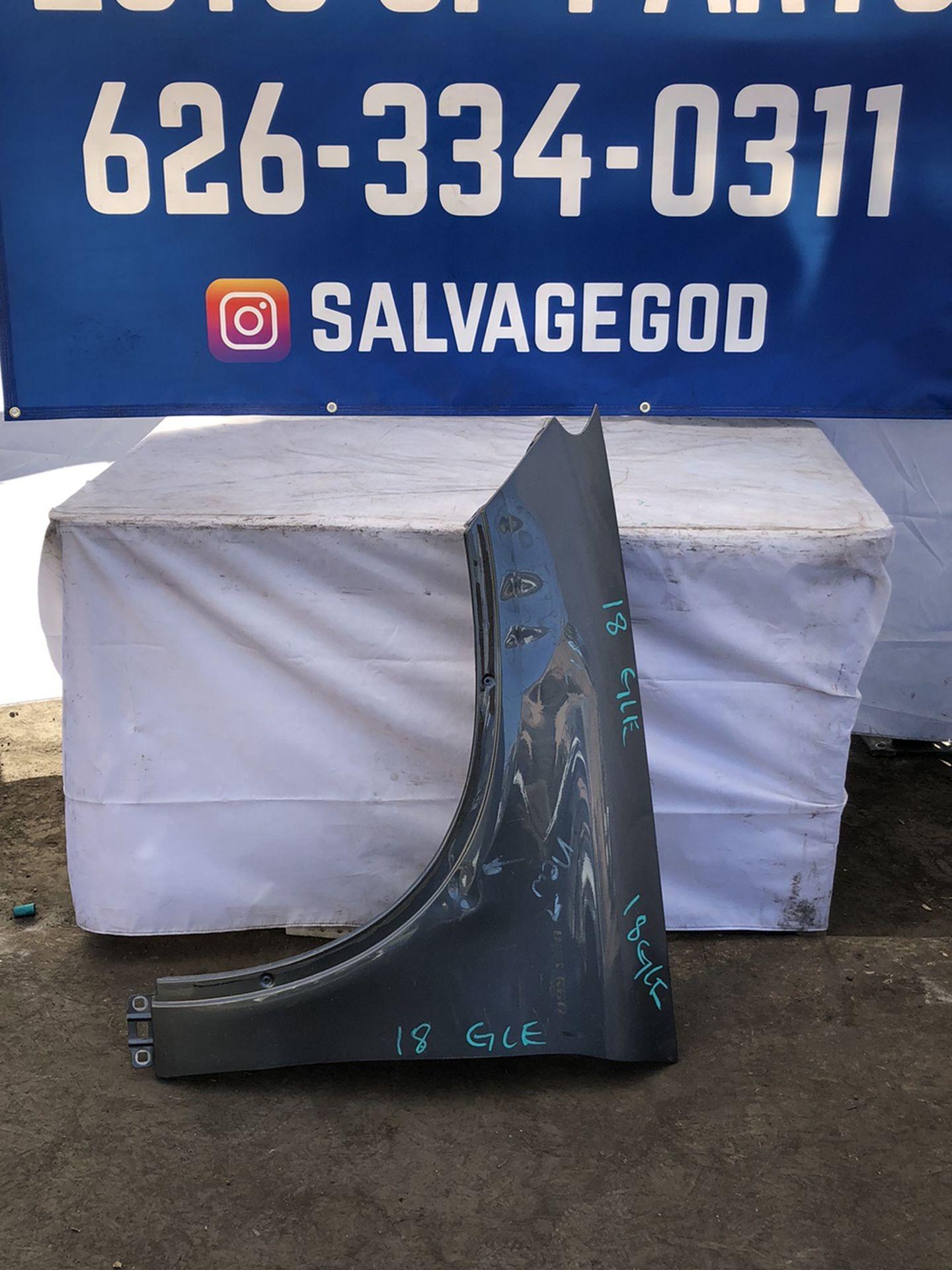 2018 Mercedes Gle Left Fender