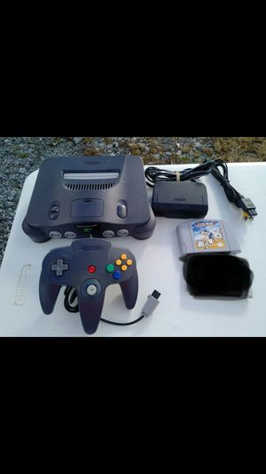 Nintendo 64 with star wars game for Sale in Germantown, MD