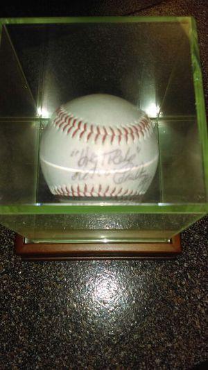 "Milo Hamilton, "" Holy Toledo"" autograph baseball for Sale in Houston, TX"