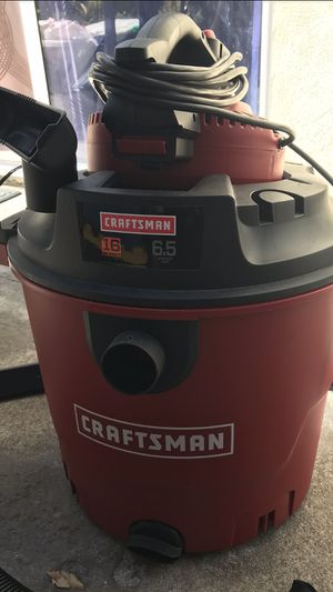 Photo CRAFTSMAN 16 GAL. 6.5 HP WET/DRY VAC SET WITH DETACHABLE BLOWER $74