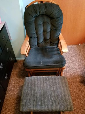 Rocking Chair and Foot Stool for Sale in WA, US
