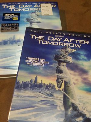 NEVER OPENED* The Day After Tomorrow Collectors Edition for Sale in Fairfax, VA