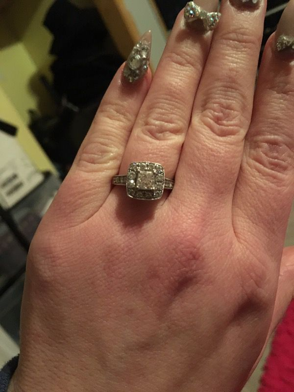 K Jewelers Enement Rings   Kay Jewelers Diamond Engagement Ring For Sale In Hillsboro Or Offerup