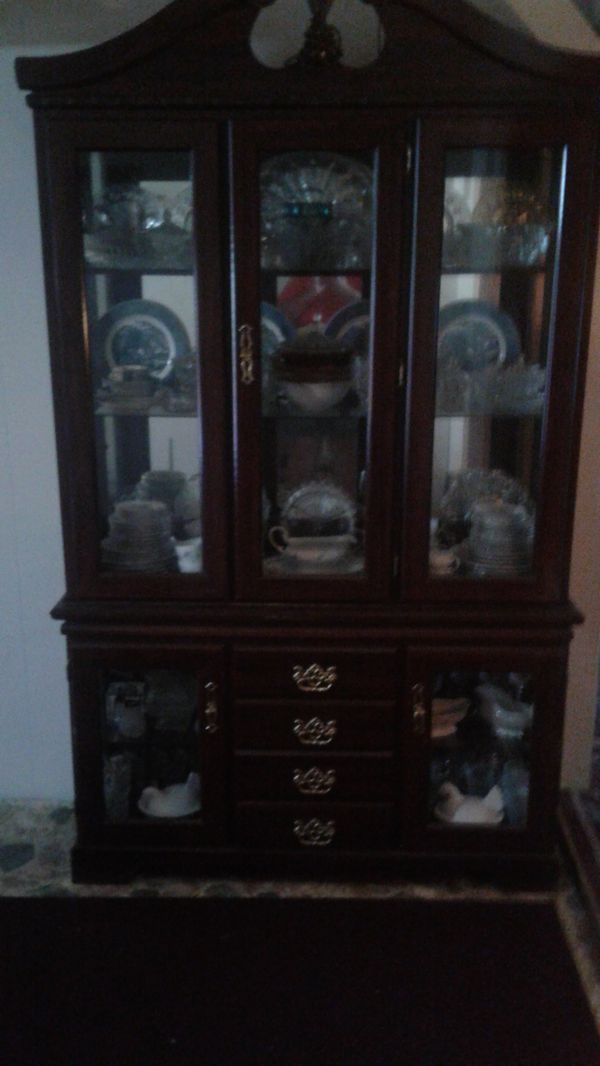 - Antique Cherry China Cabinet For Sale In French Creek, WV - OfferUp