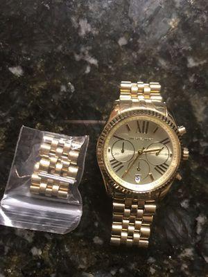 Gold Michael Kors Women's Watch - $95 for Sale in Alexandria, VA