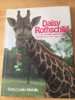 Book- Daisy Rothschild- The Giraffe That Lives With Ne. for Sale in Poolesville, MD