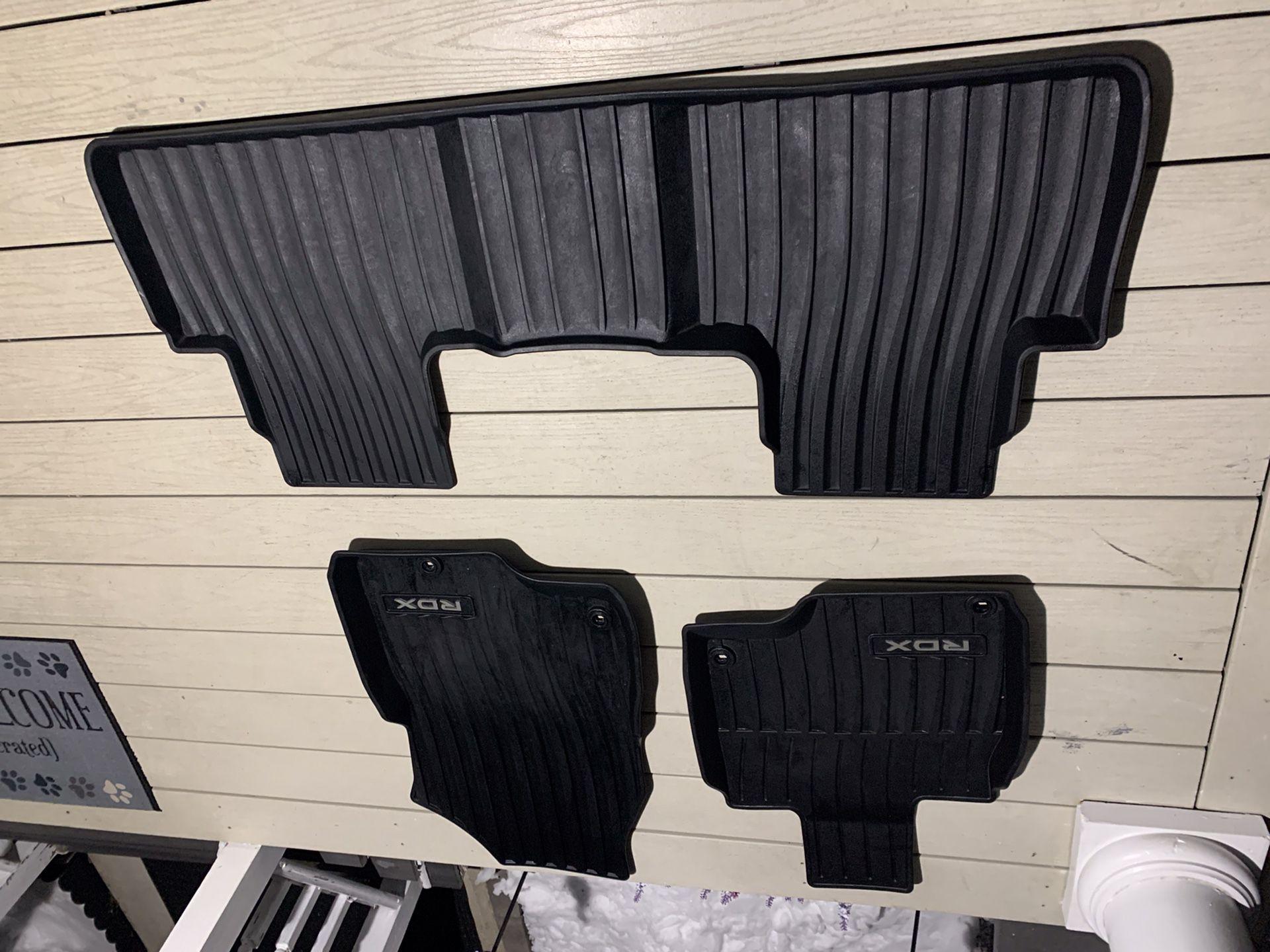 2020 Acura RDX Rubber Matts