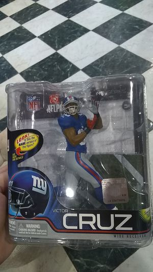 McFarlane Toys NFL Victor Cruz Collectible figure for Sale in Orlando, FL