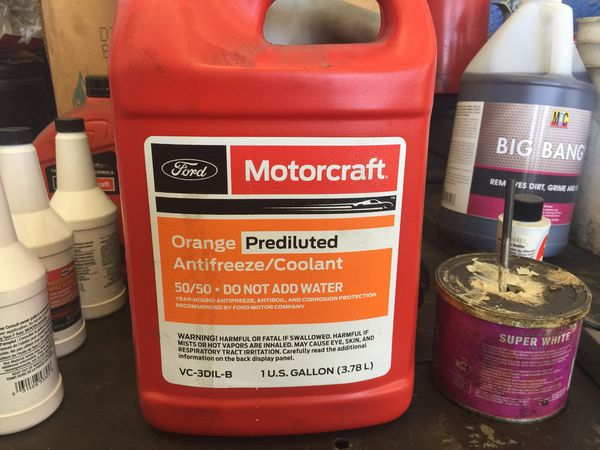 Ford coolant gold orange n green for Sale in Riverside, CA - OfferUp