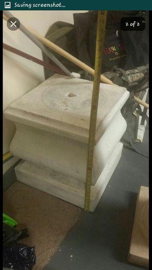 Concrete Pedistal for Sale in Las Vegas, NV